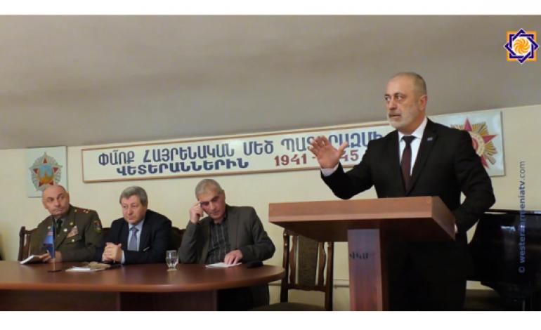 (Western Armenian) Ի Յիշատակ' Ռուսական Դեկրետի հարիւր ամեակի,Մեծ Պատերազմի Զինադադարի Եւ Արեւմտեան Հայաստանի Անկախութեան Մասին